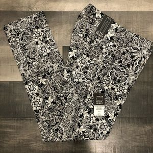 TOPMAN Ultra Skinny fit floral pants 36x32 NWT